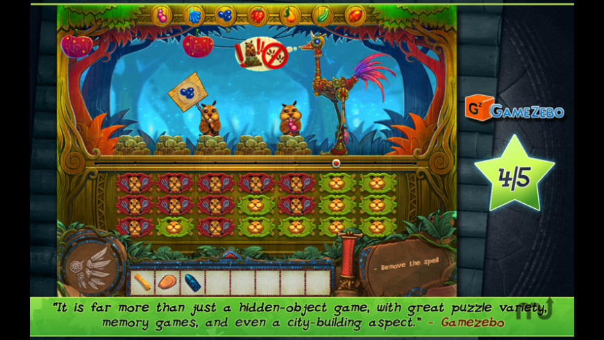 Tulula: Legend of a Volcano for Mac - review, screenshots
