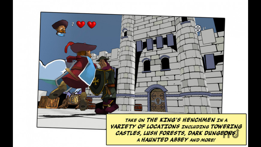 The Three Musketeers: One for All! for Mac - review, screenshots