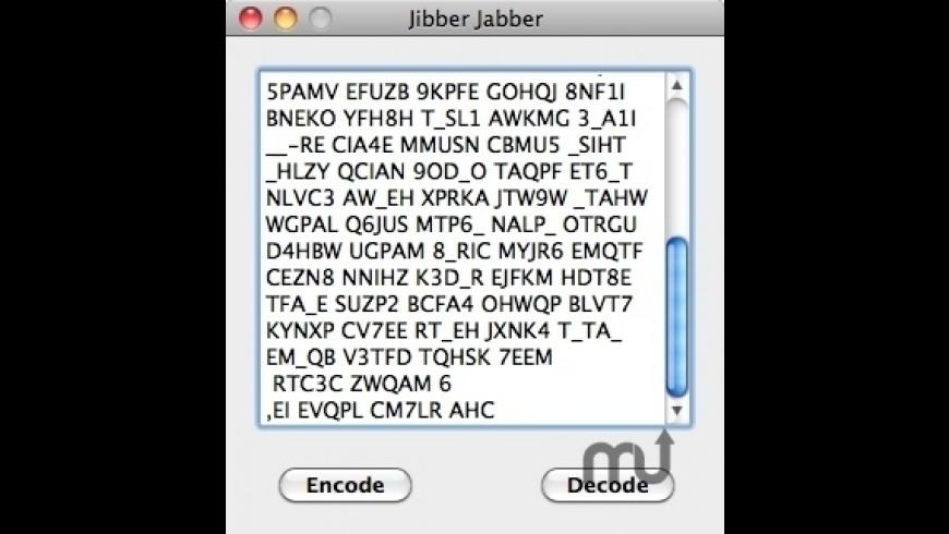 Jibber Jabber for Mac - review, screenshots