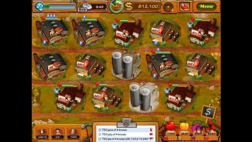 Fruits Inc. for Mac - review, screenshots