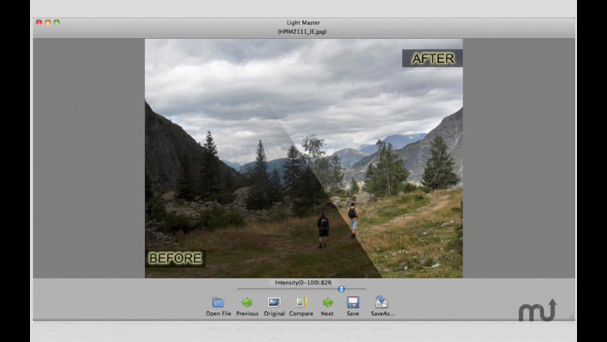Light Master for Mac - review, screenshots