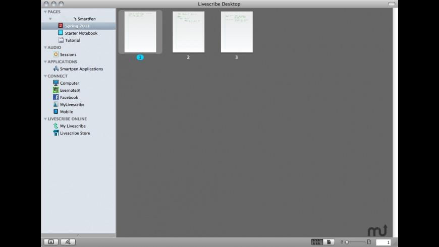 Livescribe Desktop for Mac - review, screenshots