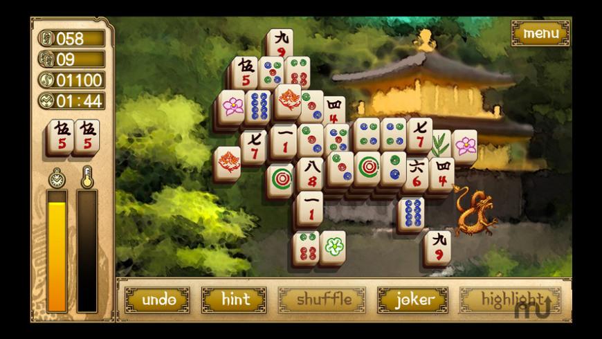 Mahjong Elements HDX for Mac - review, screenshots
