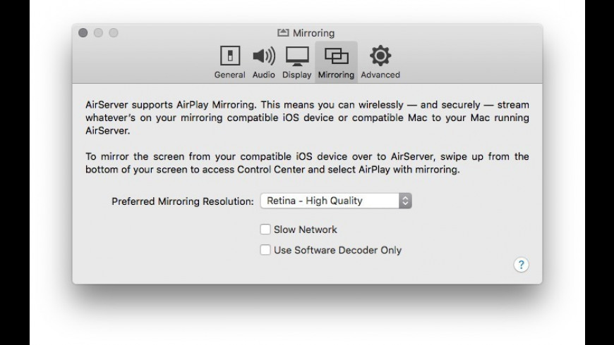AirServer 7 2 0 Free Download for Mac | MacUpdate