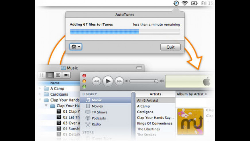 AutoTunes for Mac - review, screenshots