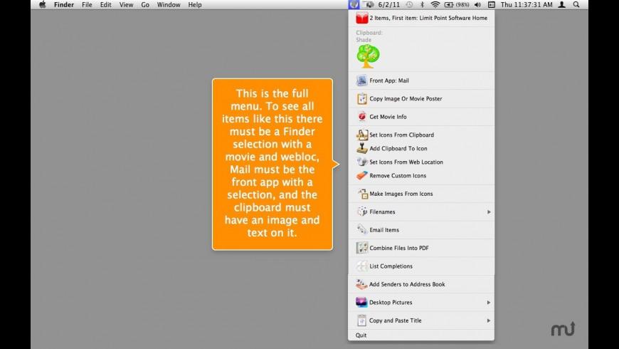 Amelita for Mac - review, screenshots