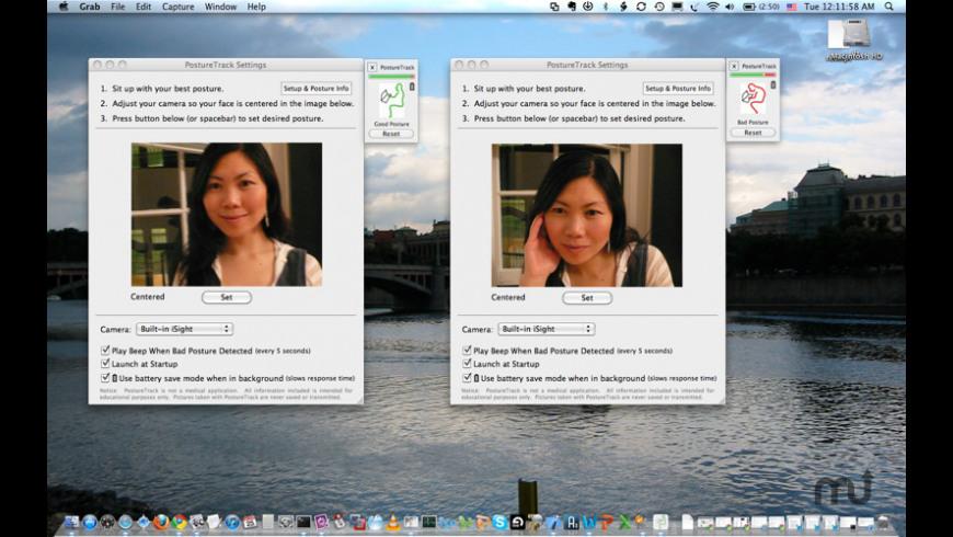PostureTrack for Mac - review, screenshots