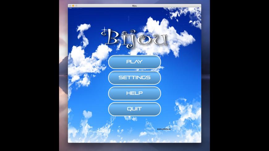 Bijou for Mac - review, screenshots