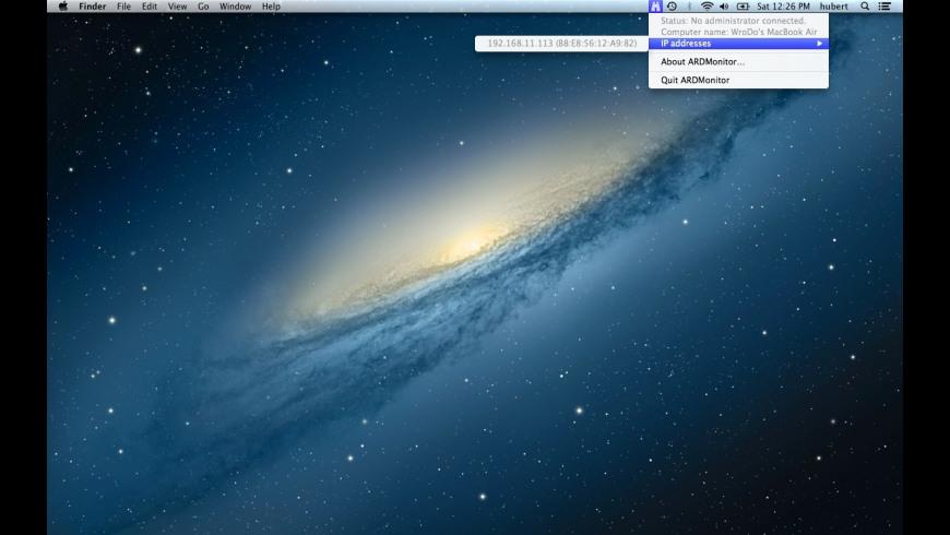 ARD Monitor for Mac - review, screenshots