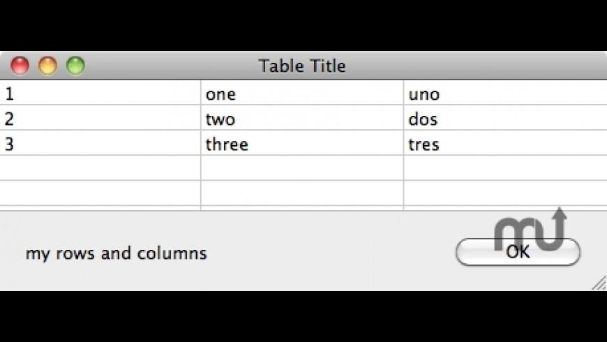 Gooey Gadgets for Mac - review, screenshots