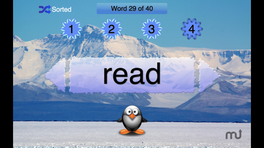 SightWords First Grade for Mac - review, screenshots