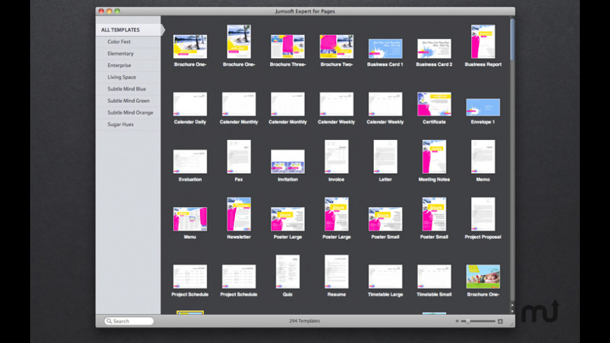 Pages Templates Expert for Mac - review, screenshots