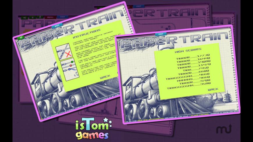 Paper Train Lite for Mac - review, screenshots