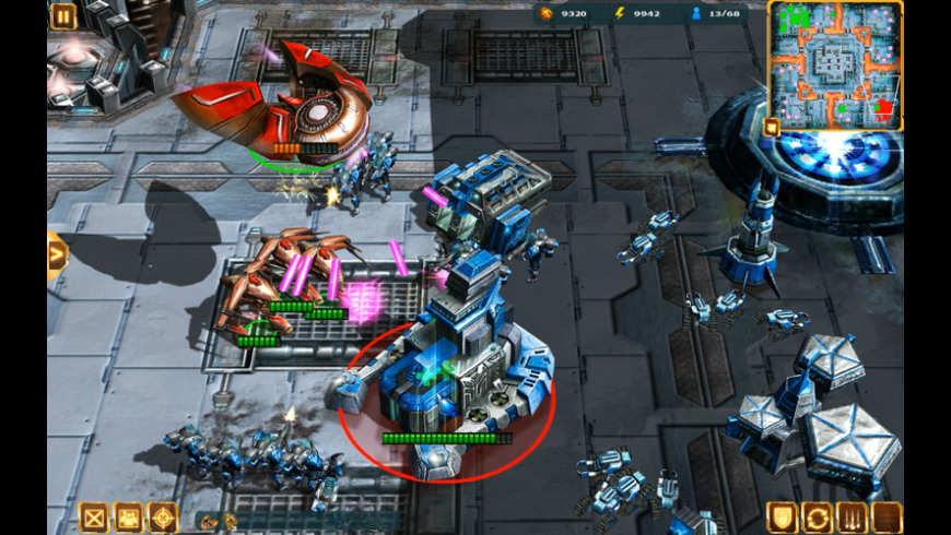 Starfront: Collision for Mac - review, screenshots