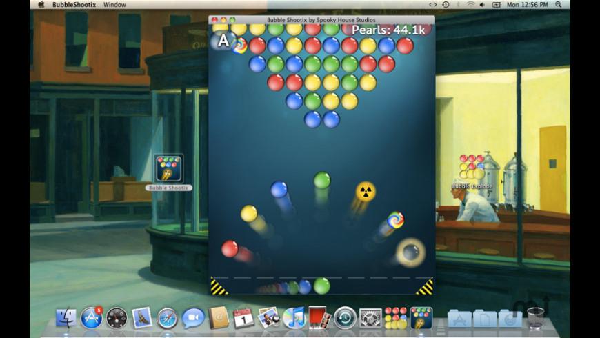 Bubble Shootix for Mac - review, screenshots