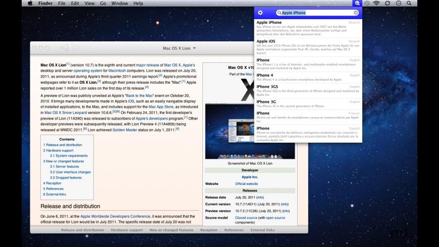WikiBuddy for Mac - review, screenshots