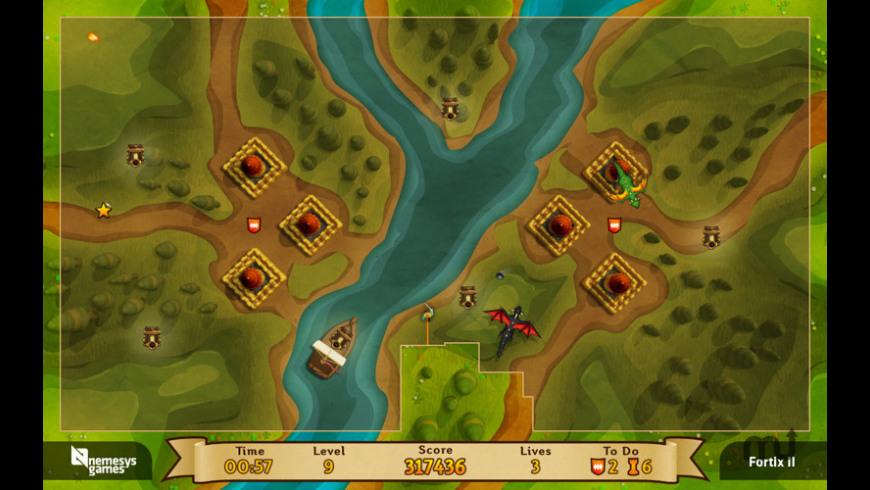 Fortix 2 for Mac - review, screenshots