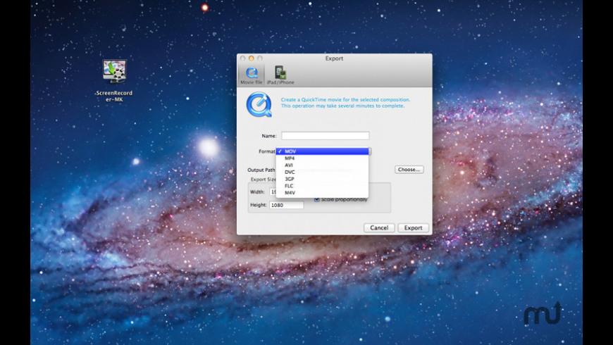 ScreenRecorder-Small for Mac - review, screenshots