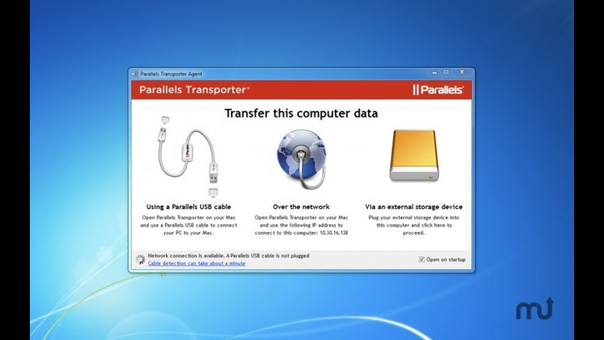 Parallels Transporter for Mac - review, screenshots