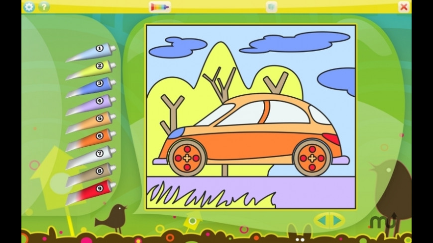 Color by Numbers - Vehicles for Mac - review, screenshots
