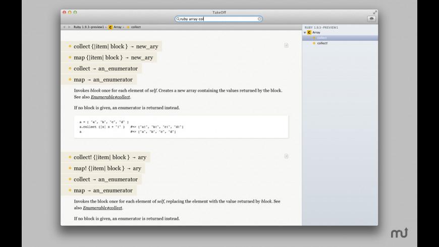 TakeOff for Mac - review, screenshots