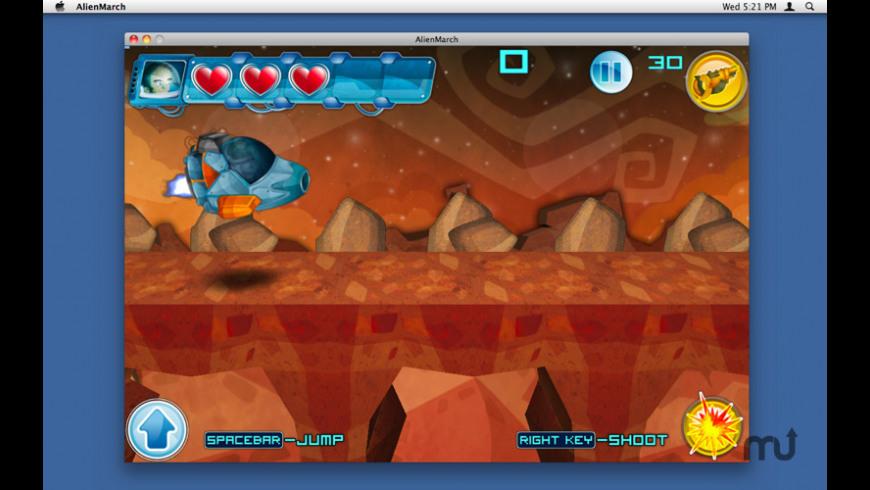 Alien March for Mac - review, screenshots