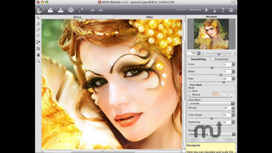AKVIS MakeUp for Mac - review, screenshots
