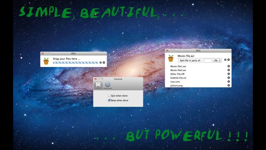 Xfile for Mac - review, screenshots