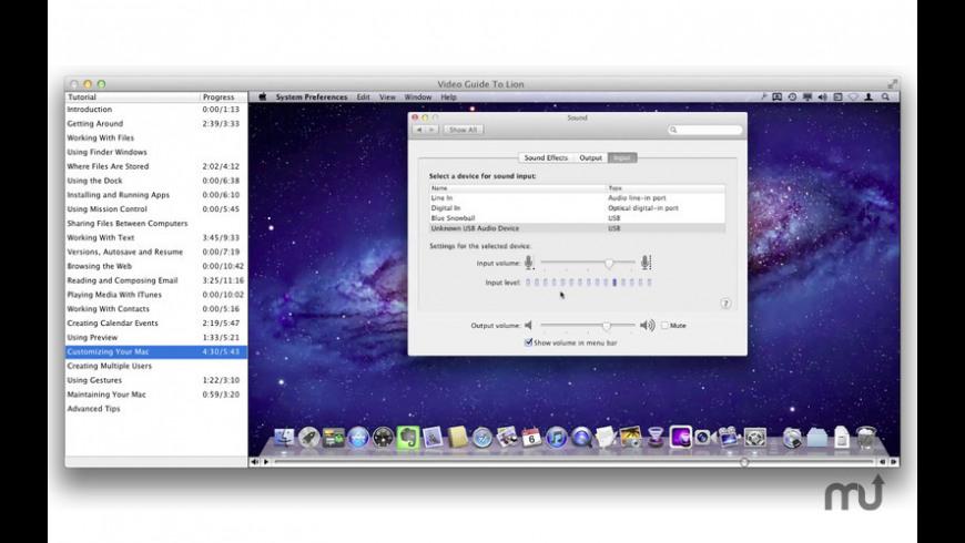 Video Guide To Lion for Mac - review, screenshots