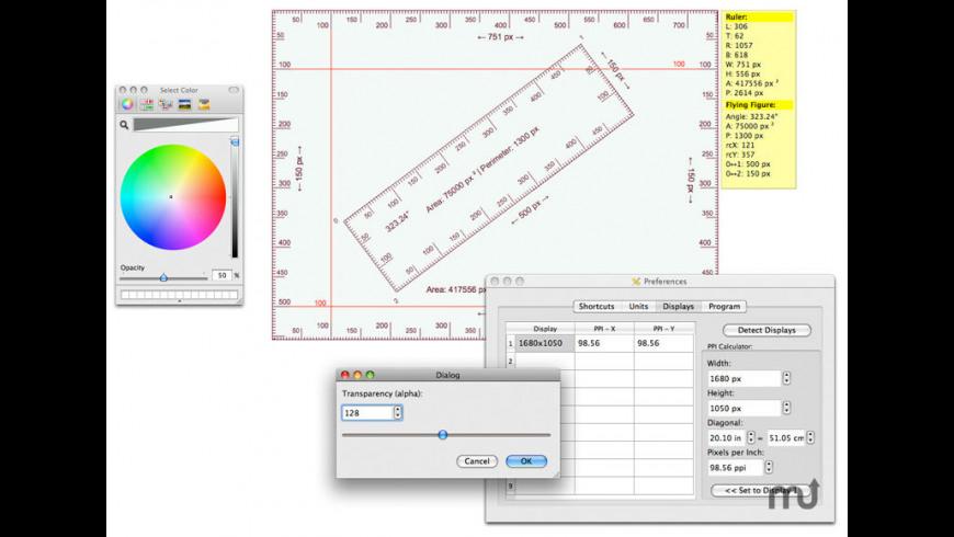 Screen Ruler 5 0 Free Download for Mac   MacUpdate