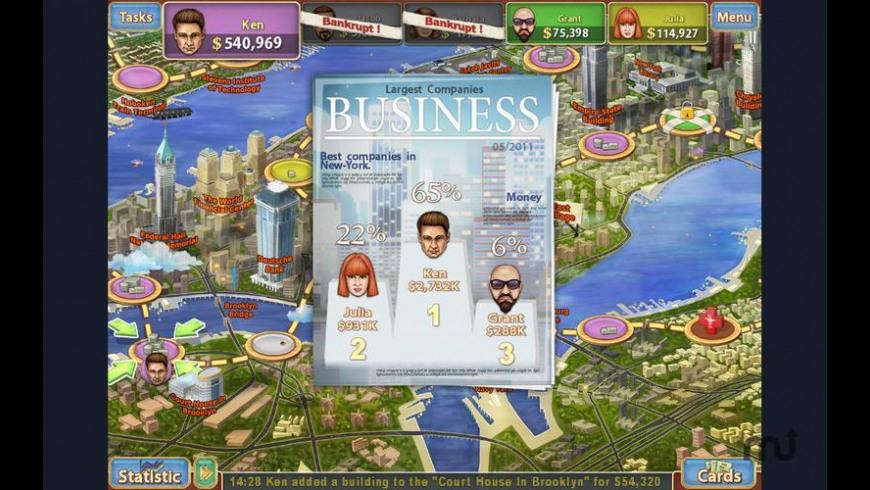 Trade Mania for Mac - review, screenshots