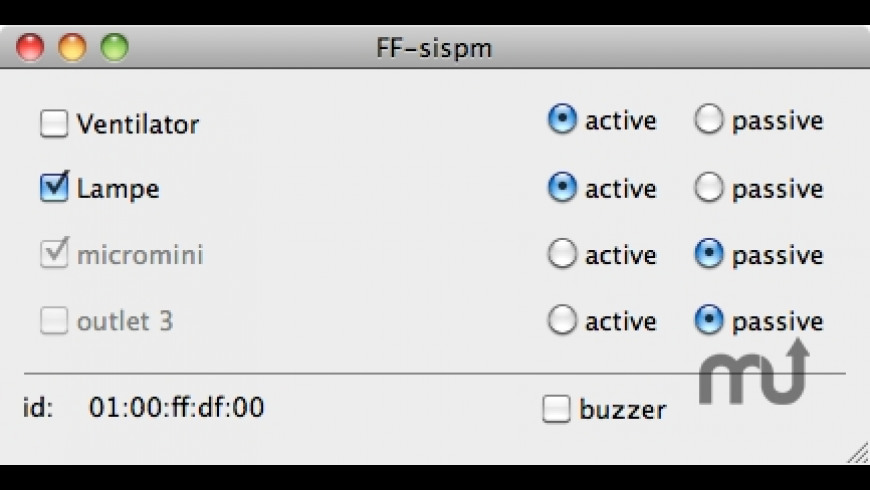 FF-sispm for Mac - review, screenshots
