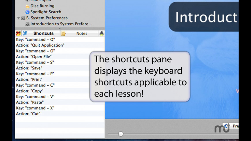 Learn - Lion Edition for Mac - review, screenshots