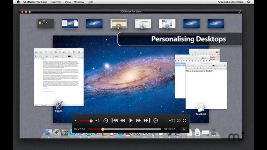 SCOtutor for Lion for Mac - review, screenshots