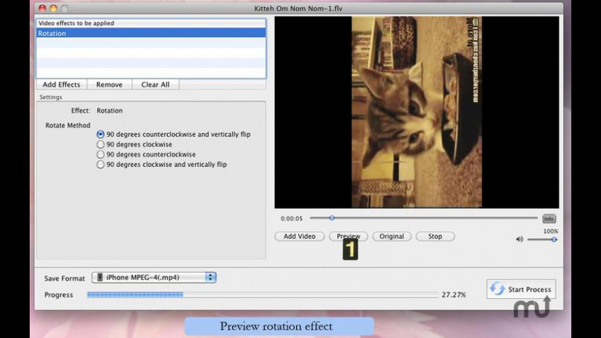 Movie Effects for Mac - review, screenshots