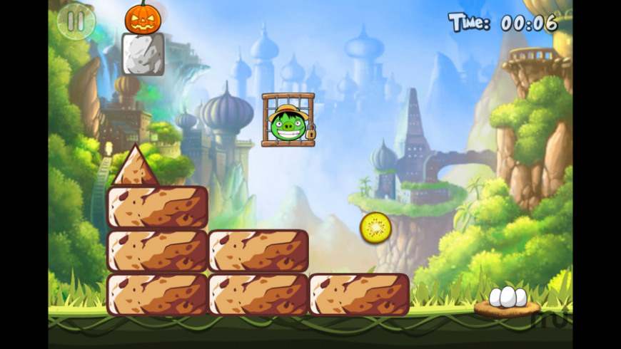 Hungry Piggy: Cheese for Mac - review, screenshots