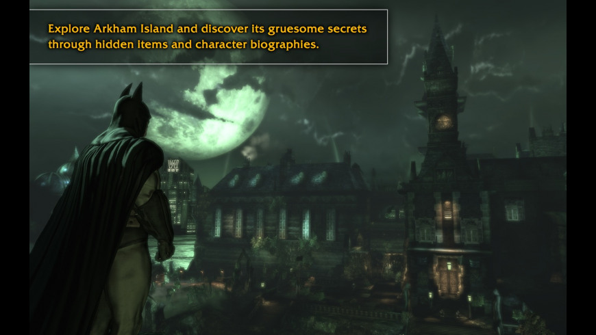 Batman Arkham Asylum for Mac - review, screenshots