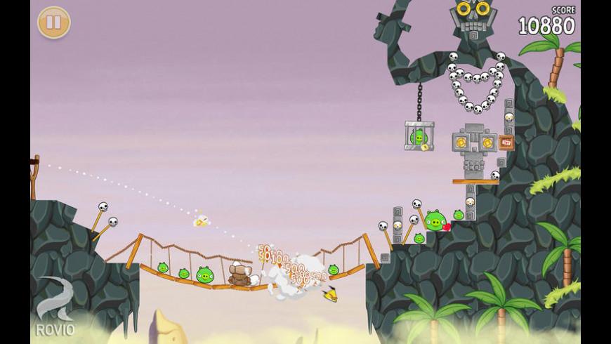 Angry Birds Seasons for Mac - review, screenshots