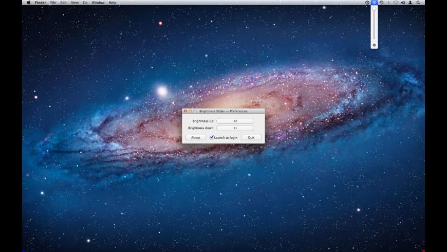 Brightness Slider for Mac - review, screenshots