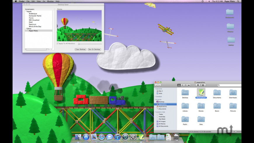Desktop Saver for Mac - review, screenshots