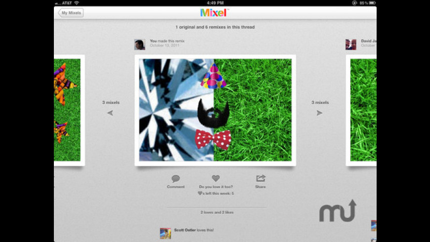 Mixel for Mac - review, screenshots