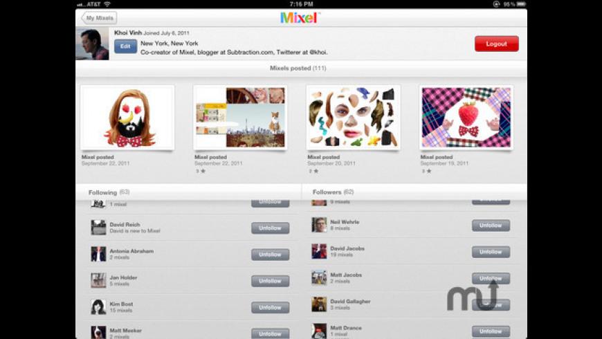 Mixel for Mac - review, screenshots