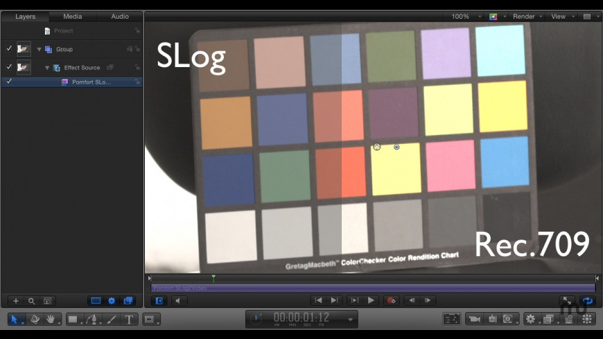 SLog2Video FxPlug for Mac - review, screenshots