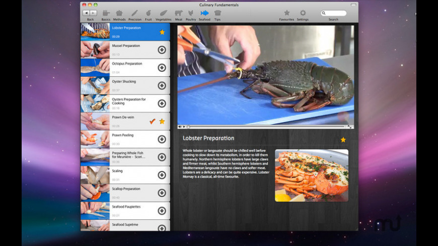 Culinary Fundamentals for Mac - review, screenshots