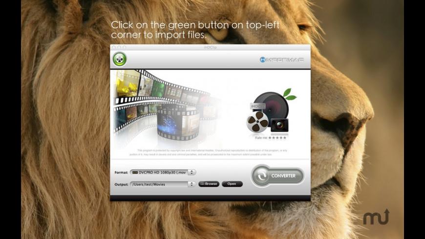 iHDClip for Mac - review, screenshots