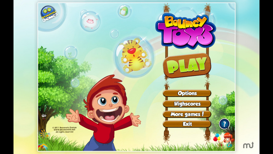 Bouncy Toys for Mac - review, screenshots