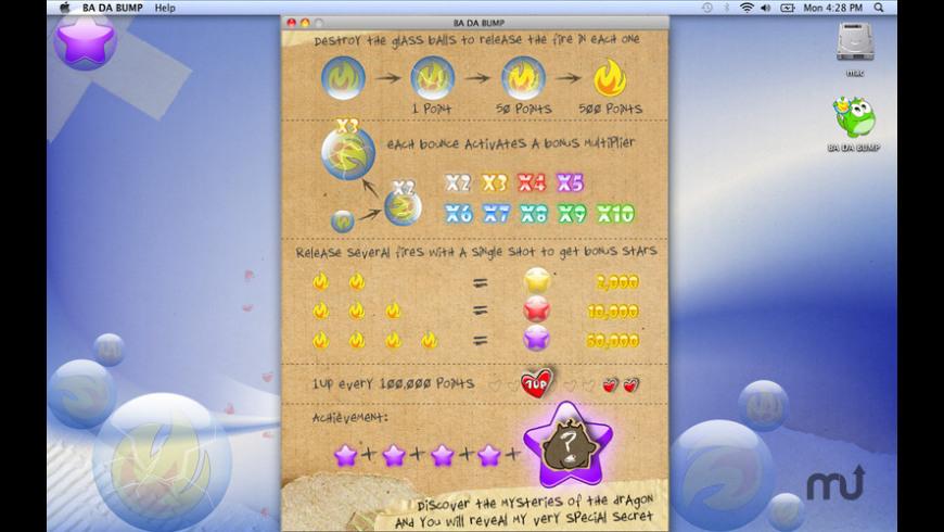 BA DA BUMP for Mac - review, screenshots