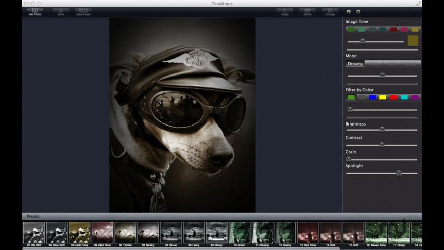 Tonaltopia for Mac - review, screenshots