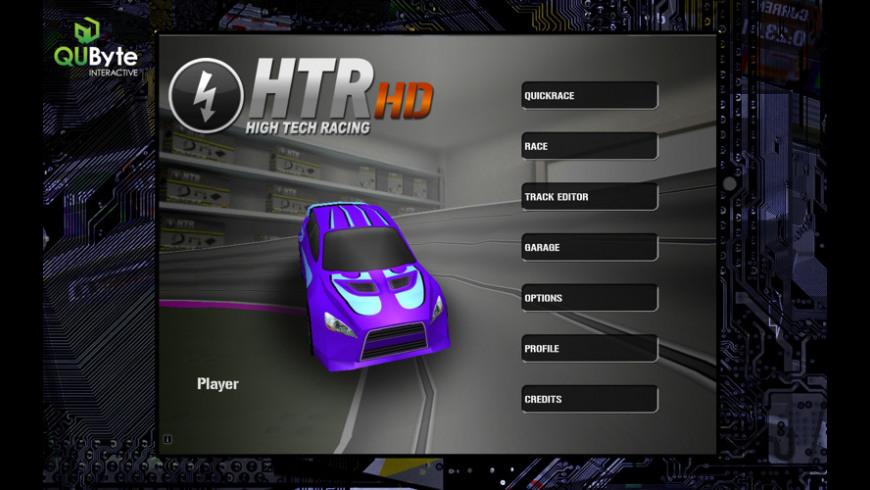 HTR HD High Tech Racing for Mac - review, screenshots