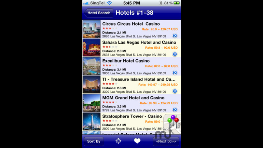 iGoHotel for Mac - review, screenshots